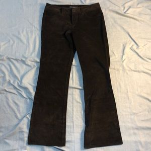 Banana Republic Velvet Pants, 10